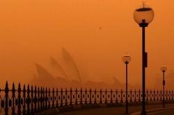 Tempestade de areia ocupa leste da Austrália