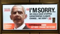 Campanha Greenpeace faz futurologia com líderes mundiais