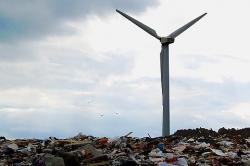 Lixo transformado em energia eléctrica